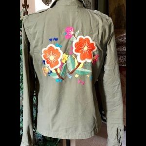 NEW Lucky Brand Shirt/Jacket Embroidered